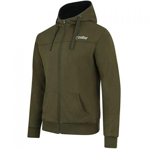 Century NG Premium Zip Green Hoody